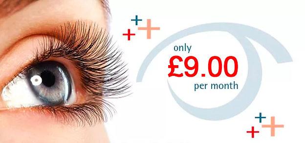 Eyecare plus page banner Simon Falk Eyec