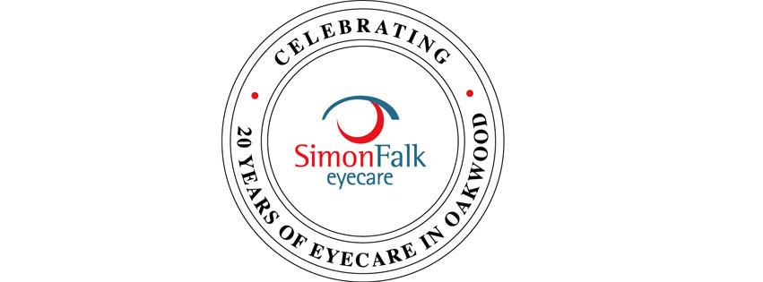 20 years anniversary offers and celebration with Simon Falk Eyecare in Leeds, optometrists and opticians