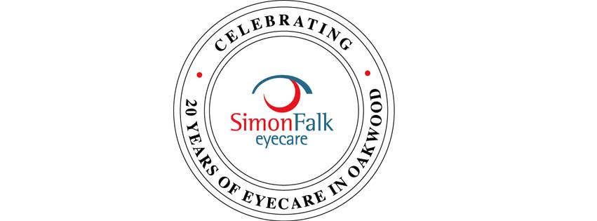 Simon Falk Eyecare are Celebrating their 20th Anniversary!