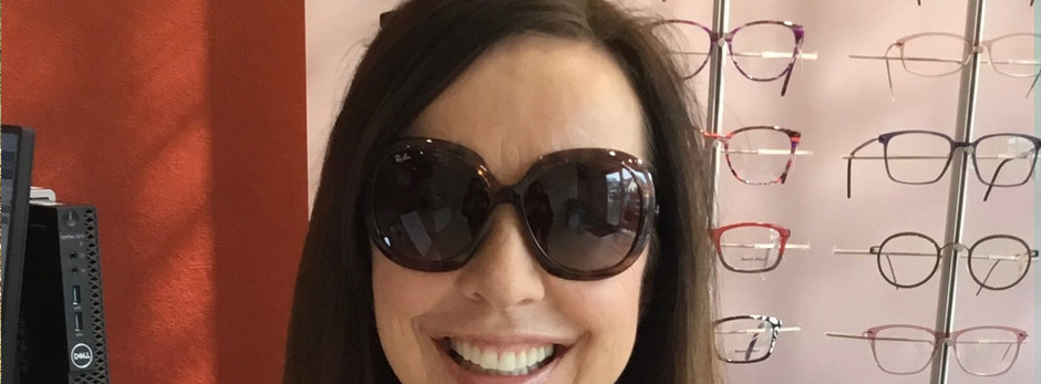 Congratulations Laura - our Rayban's winner