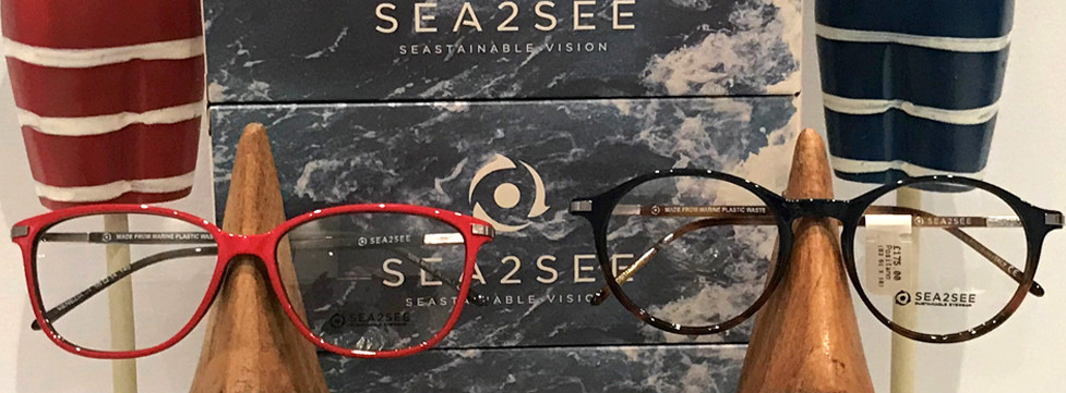 Sea2see frames now stocked at Simon Falk Eyecare opticians in Leeds