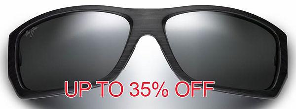 Maui Jim Polarised sunglasses frames Sim