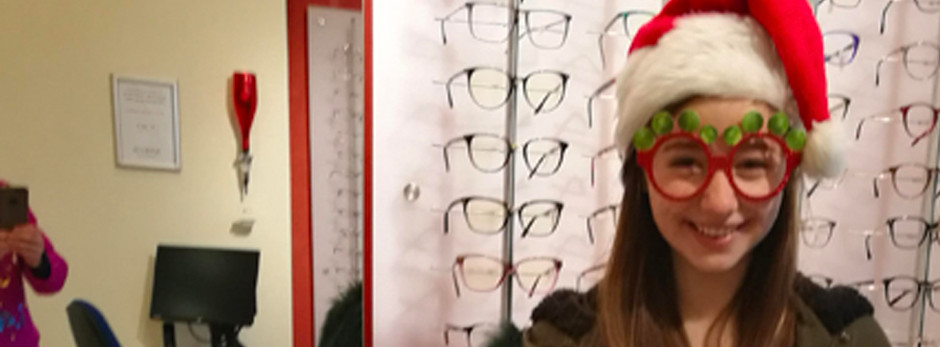 Christmas Kids Day at Simon Falk Eyecare