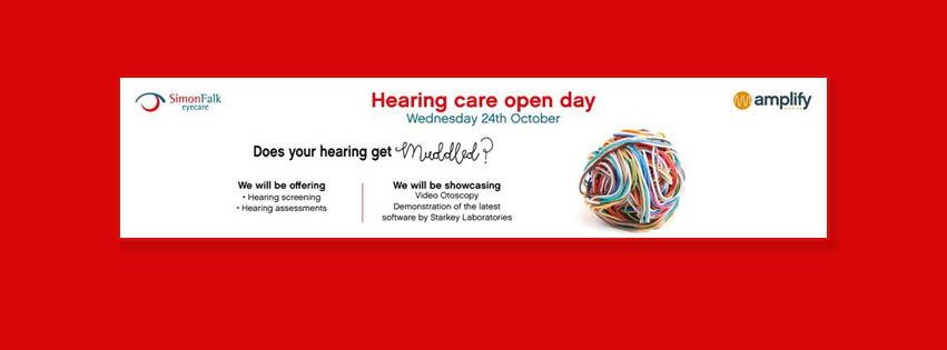 Hearing Open Day on 24th October