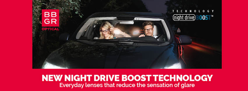 Night driving boost lenses. If you find it hard to drive of an evening. Simon Falk Eyecare Opticians in Leeds