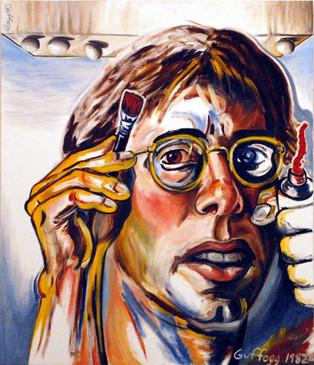 Self-Portrait as Painter, 1982