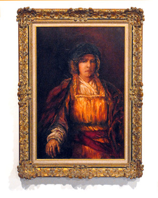 Self-Portrait as Rembrandt at 18, 1981
