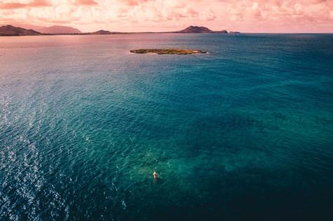 The Kayak and the Island