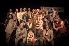 Cast of Hellfighter, Rooted Theatre