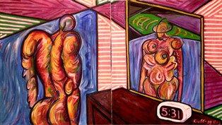 Standing Before the Mirror, 1983