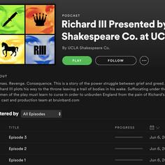 Richard III Radio Play