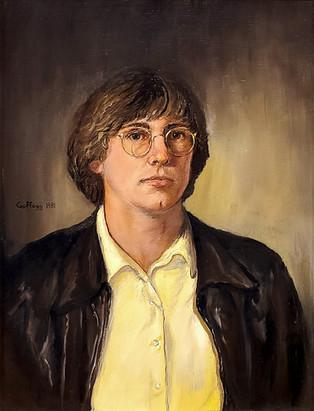 Self-Portrait at 18, 1982