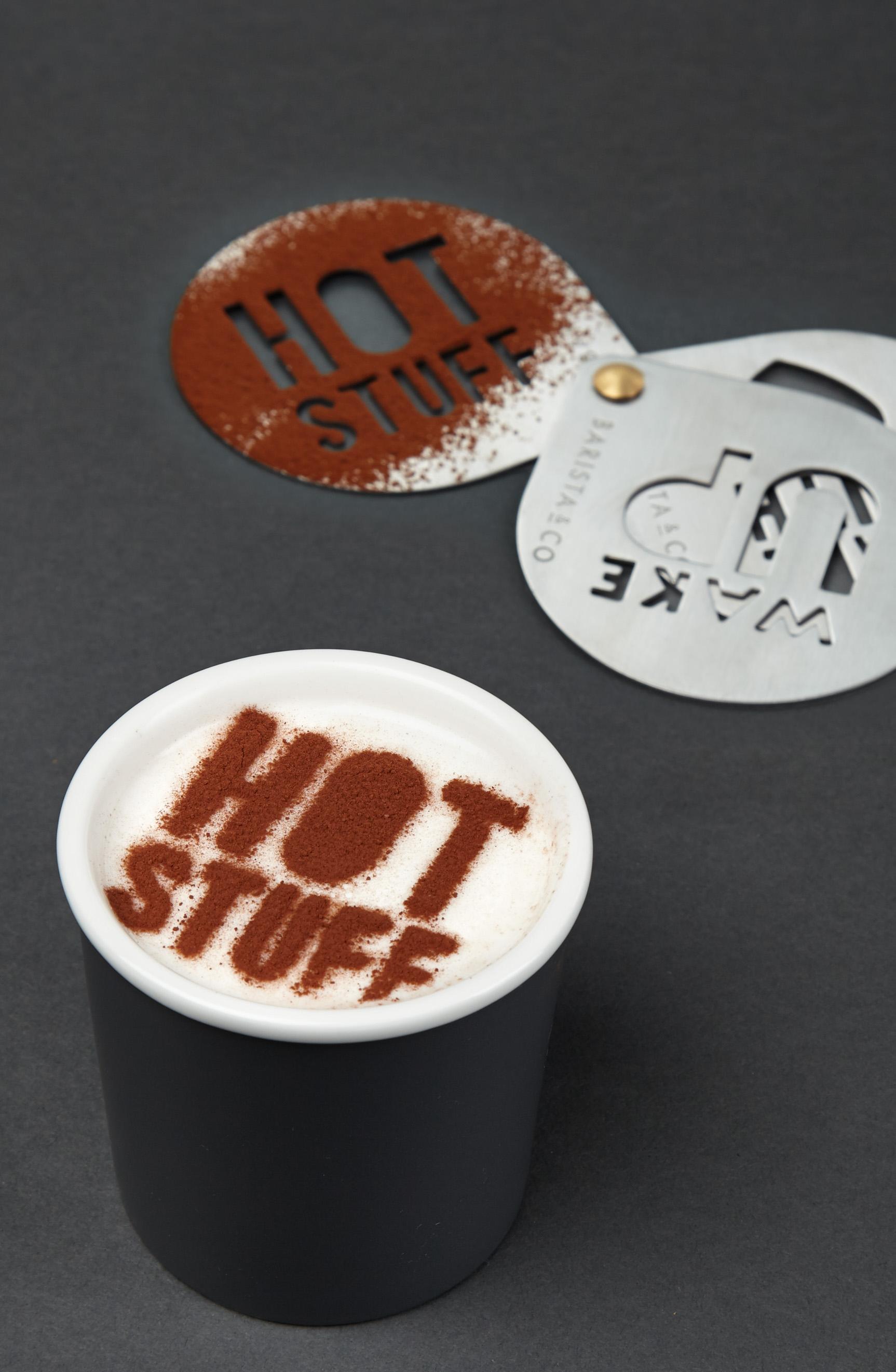 Hot Stuff stencil