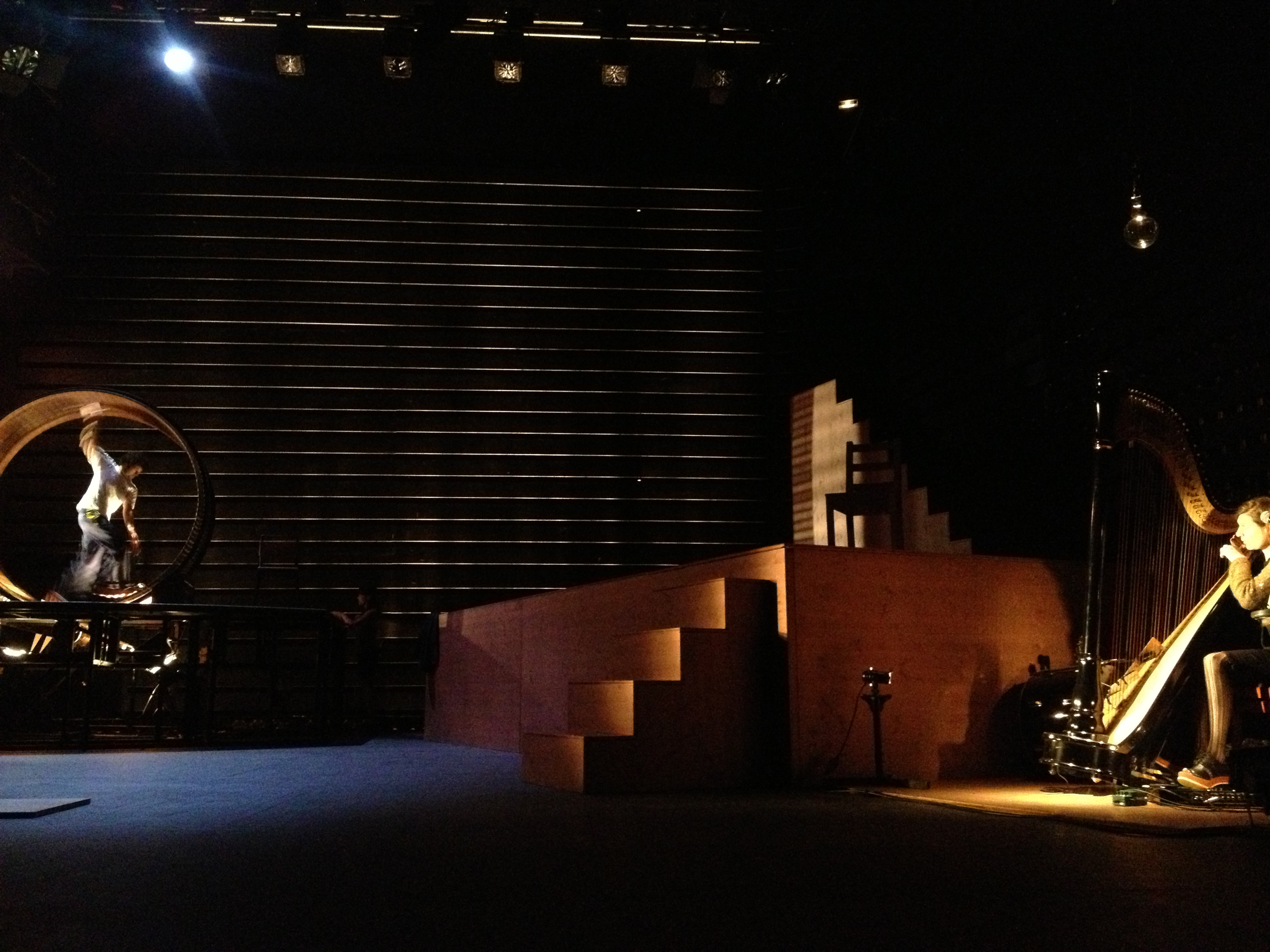 Minuit, théâtre des Abbesses