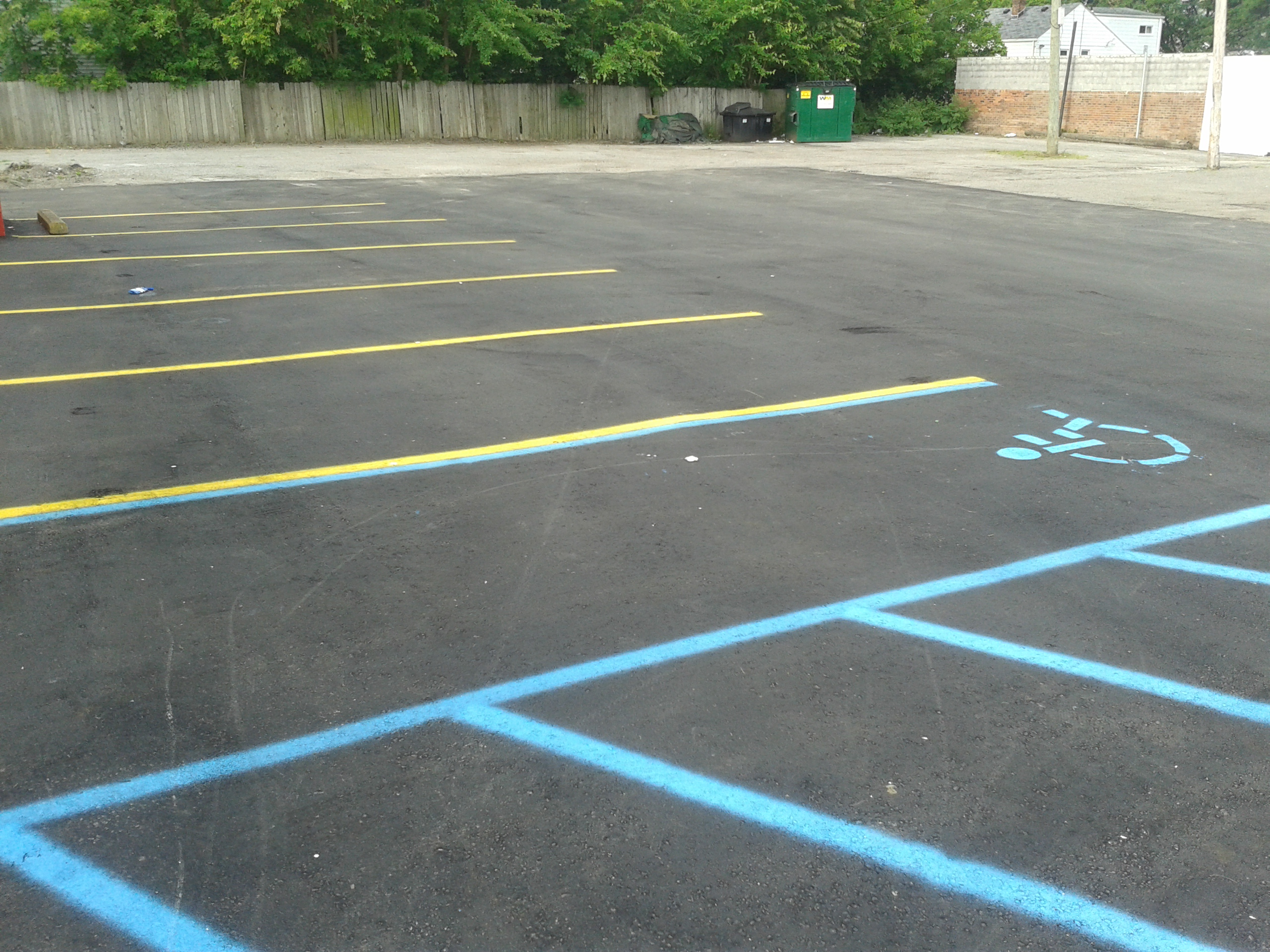 Parking Lot Pavement