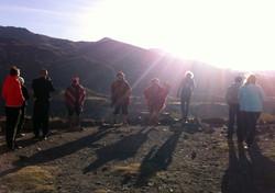 Ceremoni i Colca Canyon