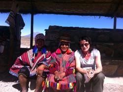 Jag och två inka shamaner