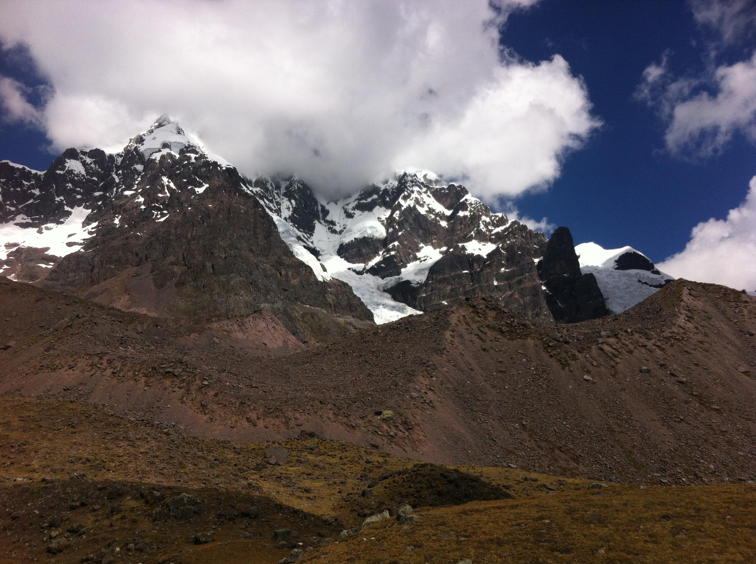 Berg vid Ausangate