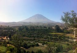 Vulkan utanför Arequipa