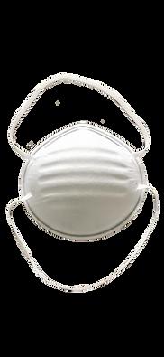 FFP2 Face Mask With Orange Headbands, 5 Masks