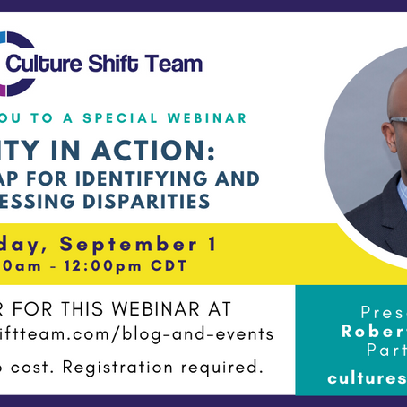 CST WEBINAR: Equity in Action: A Roadmap for Identifying and Addressing Disparities