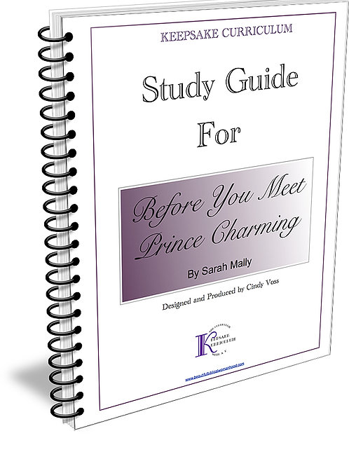 Before You Meet Prince Charming Study Guide