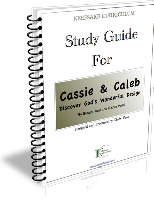 Cassie and Caleb Discover God's Wonderful Design Study Guide