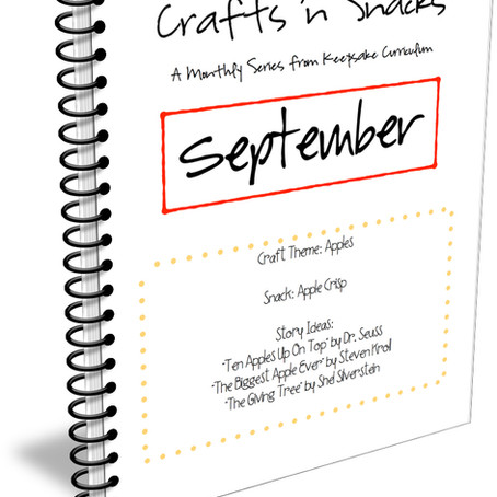 Crafts 'n Snacks - A Monthly Series