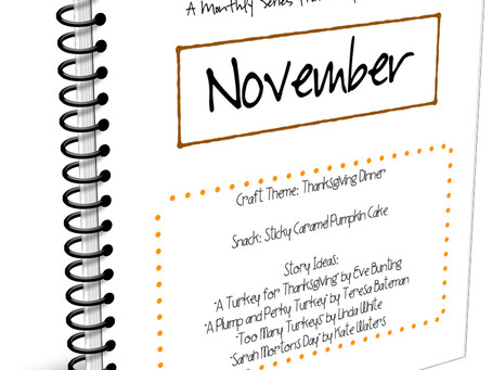 November Crafts 'n Snacks - Thanksgiving Dinner