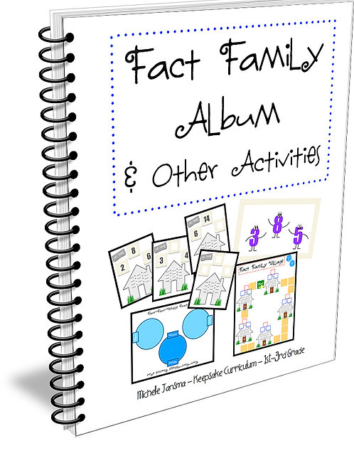 Fact Family Album Unit (Digital Product)