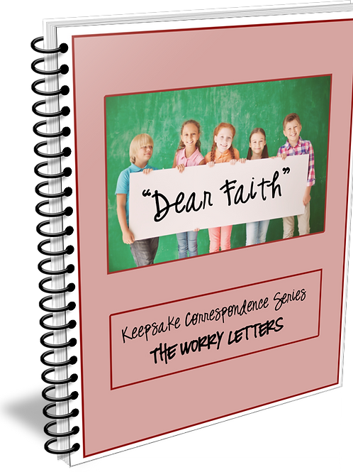 """""""Dear Faith"""" Keepsake Correspondence Series """"Worry Letters"""""""