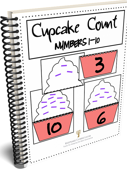 Cupcake Count - Numbers 1-10