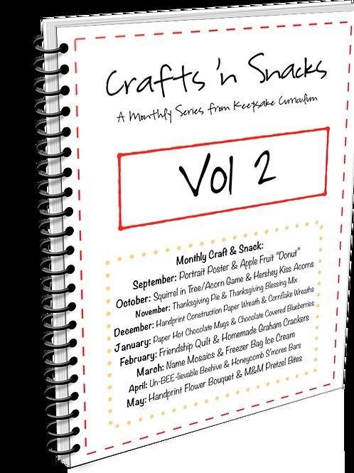 Crafts 'n Snacks Bundle Volume 2