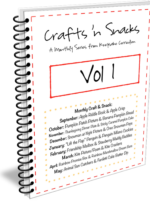 Crafts 'n Snacks Bundle Volume 1