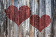 love-heart-on-vintage-wood-background-te