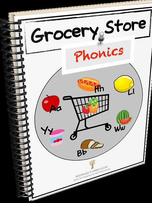 Grocery Store Phonics