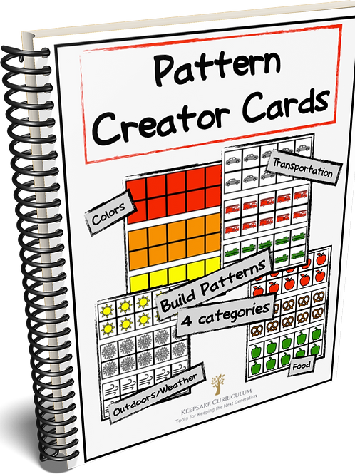 Pattern Creator Cards