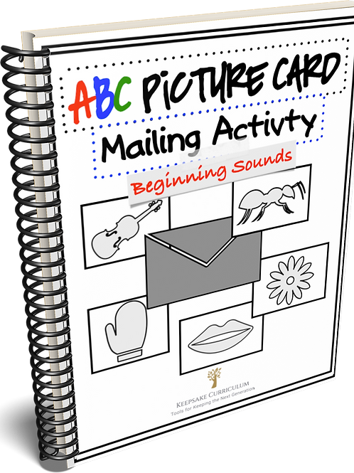 ABC Picture Card Mailing Activity