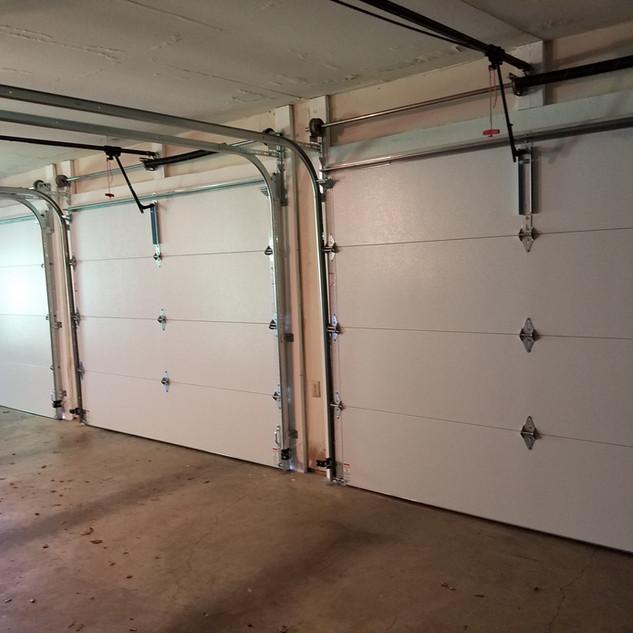 Steel Back Insulated Garage Doors