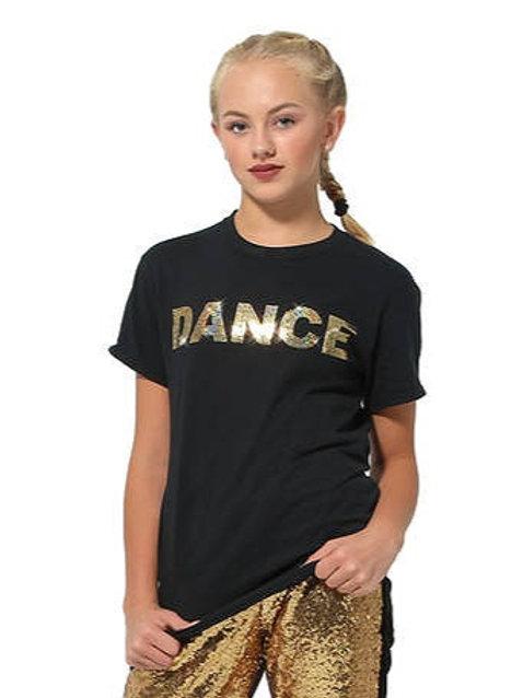 GAR252 - Sequin Dance T-Shirt