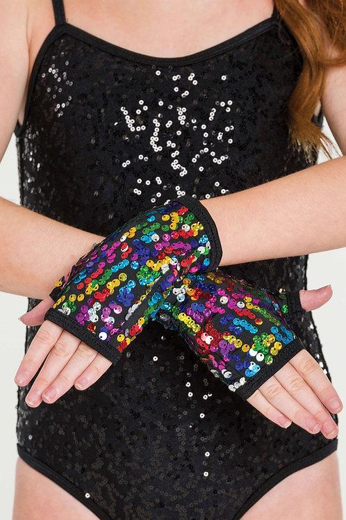 ACC05 - Sequin Fingerless Gloves