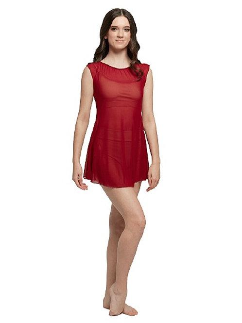 D22 - Mesh Slip Dress