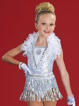 190 - Glamour Girl with Fringe Skirt