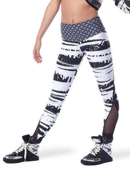 AC5428 - Graffiti Queen Mesh Pants