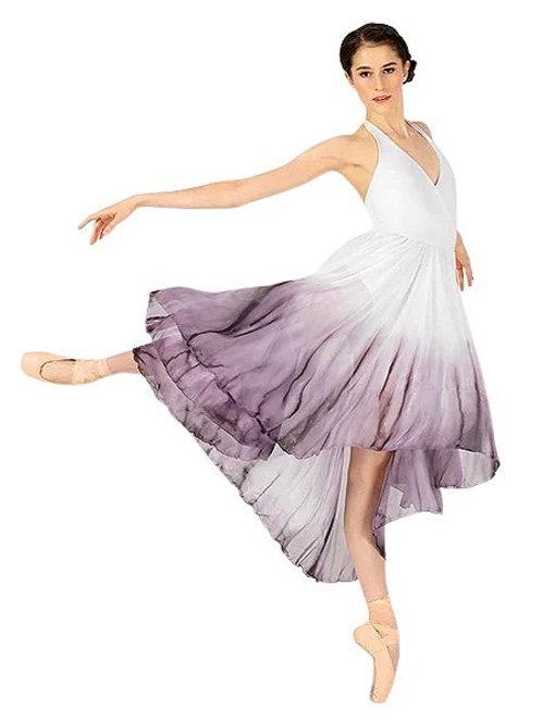 WC202 - Watercolour Hi-Low Dress