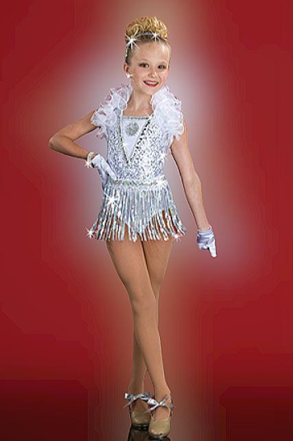 190 - Glamour Girl ( Leo & Fringe Skirt)