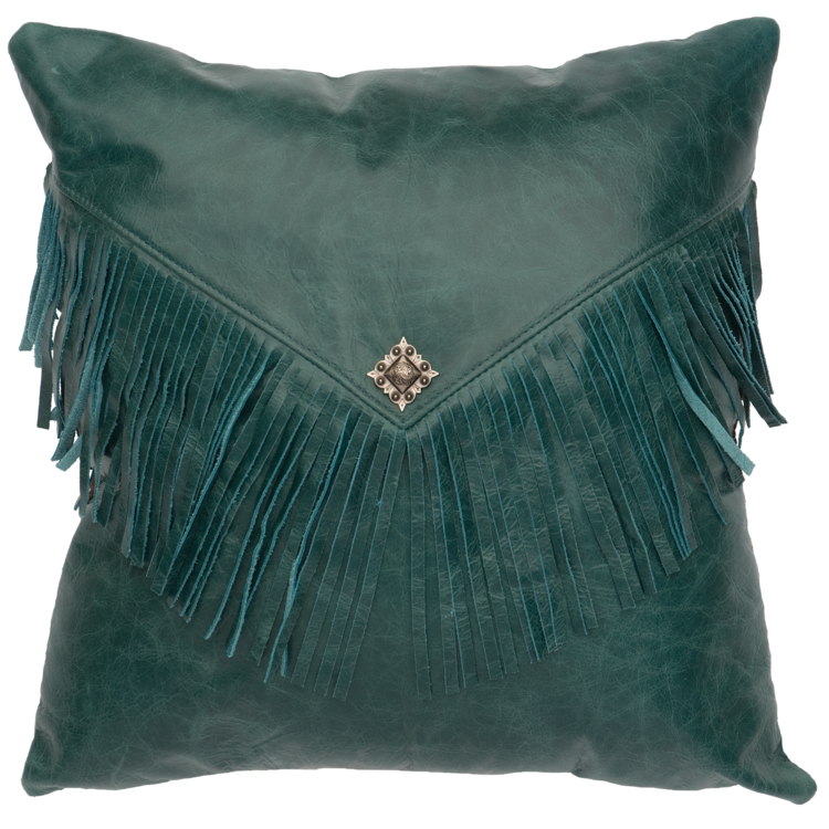 Wooded River Leather/Hide Pillows