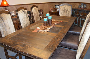 Mountain High Furniture | Western Dining Tables | Made in Colorado