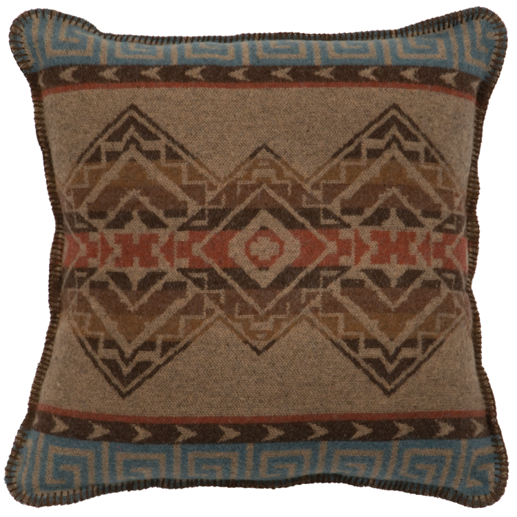 Bison Ridge Fabric Pillow