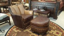 Stetson Chair & Ottoman